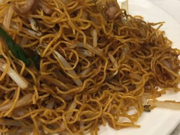 Pan-Fried Chow Mein with Shredded Pork