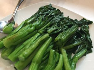 Stir-Fried Plain Choy-Sum